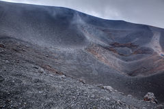 Etna summit Stock Photos