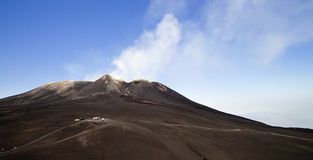 Etna summit craters Stock Photos