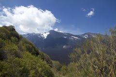 Etna, supporto di Zoccolaro Immagine Stock