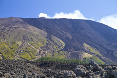 Etna Unesco Fotografie Stock