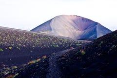 Etna volcano. Trekking on Etna volcano in Sicily Royalty Free Stock Photos