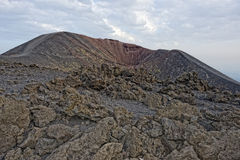 Etna volcano caldera Royalty Free Stock Photos