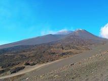 Etna volcano crater Royalty Free Stock Photos