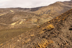 Etna volcano craters in Sicily, Italy Royalty Free Stock Photography