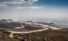 Etna volcano landscape Stock Images