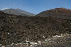 Etna volcano, Sicily, Italy Royalty Free Stock Image
