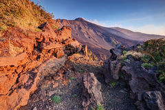 Etna Volcano Royalty Free Stock Images