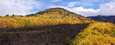 Etna volcano, Sicily, Italy Stock Photo