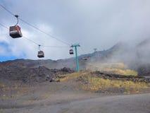 Etna volcano, Sicily, Italy royalty free stock photography