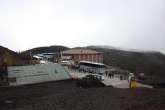 Etna Volcano Sicily Stock Photo