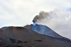 Etna volcanoes Stock Image