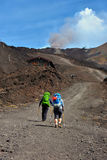Etna volcanoes Royalty Free Stock Photo