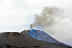 Etna volcanoes Royalty Free Stock Photos