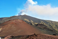 Etna volcanoes Stock Photo