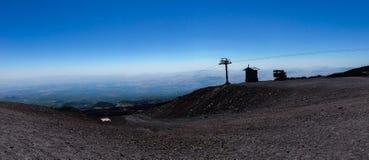 etna vulcan Στοκ Εικόνα