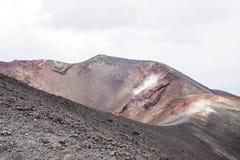 Etna Vulcano - Σικελία Ιταλία Στοκ εικόνες με δικαίωμα ελεύθερης χρήσης