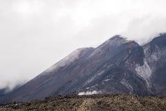 Etna Vulcano, Sicily Włochy - Zdjęcie Stock
