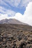 Etna Vulcano, Sicily Włochy - Obraz Royalty Free
