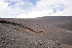 Etna Vulcano, Sicily Włochy - Obrazy Royalty Free
