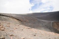 Etna Vulcano, Sicily Włochy - Obrazy Stock