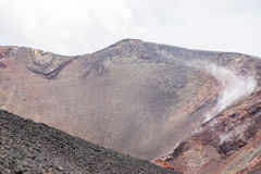 Etna Vulcano, Sicily Włochy - Zdjęcie Royalty Free