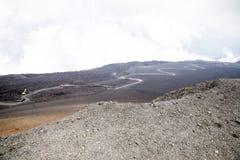 Etna Vulcano, Sicily Włochy - Fotografia Stock