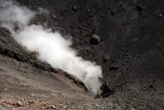 etna vulkan Royaltyfri Bild