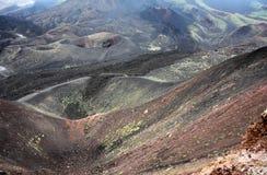 etna wulkan Obraz Royalty Free