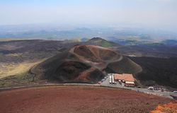 etna wulkan Fotografia Stock