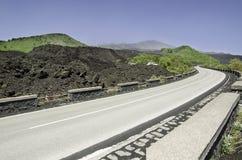 Etna wulkan, Sicily Obraz Stock