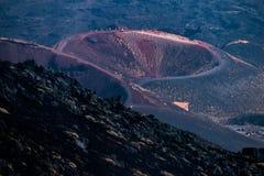 Etna wulkan, Sicily, W?ochy fotografia royalty free