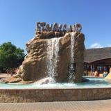 Etnaland water park entrance Stock Photo