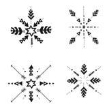 Etnic stam- beståndsdelar Royaltyfria Bilder