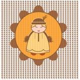 Etnic symbol Arkivfoton