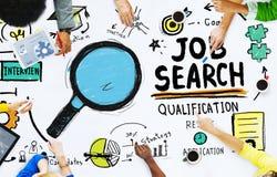 Etnicitetfolkdiskussion Job Search Teamwork Concept Arkivfoton