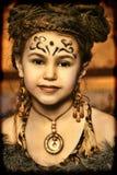Etniczna dziewczyna Obraz Stock