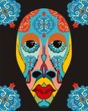 Etniczna maska ilustracji
