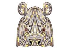 etniczna nosorożec Zdjęcie Stock