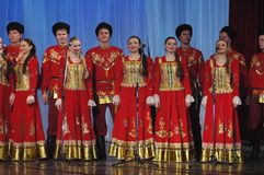 Etniczne rosyjskie piosenki Zdjęcie Stock