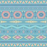 Etnicznego boho bezszwowi wzory Rocznika ornament Wektorowy illustra Fotografia Stock