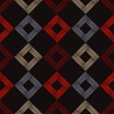 Etnicznego boho bezszwowy wzór azjata mata Skrobaniny tekstura Ludowy motyw royalty ilustracja