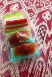 Etniczni Malajscy nonya torty biorą daleko od Obrazy Stock