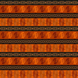 Etniczny afrykański bezszwowy wzór zdjęcie royalty free