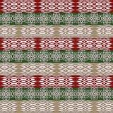 Etniczny afrykański plemienny lampasa wzór zdjęcia royalty free