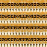 Etniczny afrykański plemienny lampasa wzór zdjęcie royalty free