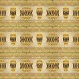 Etniczny afrykański plemienny wzór zdjęcia royalty free