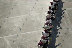 Etniczny azjatykci tancerz w kostiumu obraz royalty free