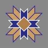 Etniczny Baltic przecinający ornamentacyjny symbol również zwrócić corel ilustracji wektora ilustracja wektor