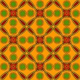 etniczny bezszwowy stylowy maswerk Obraz Stock
