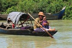 etniczny Cambodia wietnamczyk Zdjęcie Royalty Free